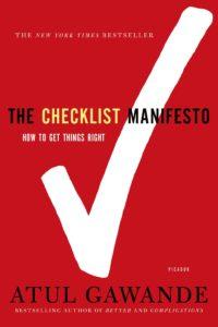 The Checklist Manifesto Book review