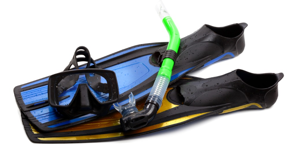 Soft TPE scuba diving equipment