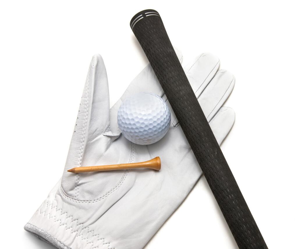 Black TPE golf club grip