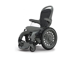 TPE used in a wheelchair instead of metal