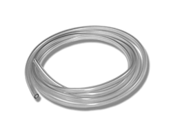 Clear medical tubing made from TPE
